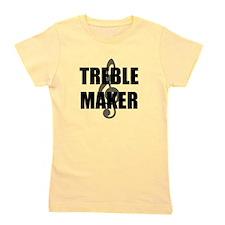 Treble Maker Black.png Girl's Tee
