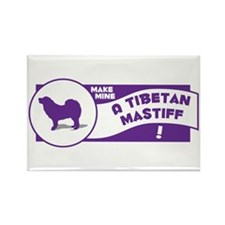 Make Mine Mastiff Rectangle Magnet (100 pack)