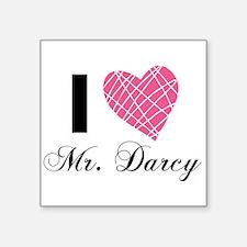 I Love Mr. Darcy Sticker