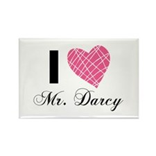 I Love Mr. Darcy Magnets