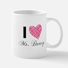 I Love Mr. Darcy Mugs