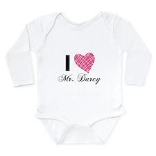 I Love Mr. Darcy Body Suit