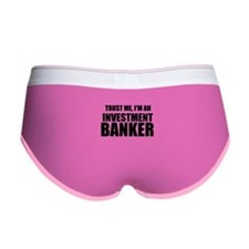 Trust Me, Im An Investment Banker Women's Boy Brie