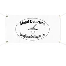 Metal Detecting Banner