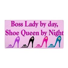 Boss Lady Shoes Beach Towel