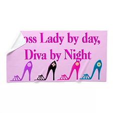 Boss Lady Diva Beach Towel
