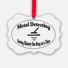 Metal Detecting Ornament