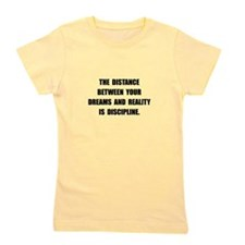 Discipline Quote Girl's Tee