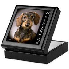 Dachshund Puppies Keepsake Box