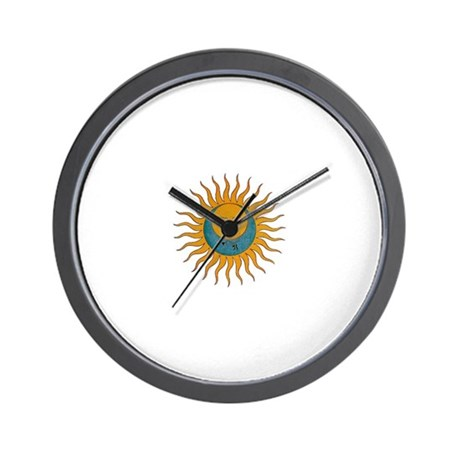 Sun Moon Tattoo Clocks Sun Moon Tattoo Wall Clocks Large