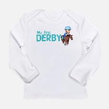 Cute Horse kentucky Long Sleeve Infant T-Shirt