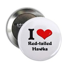 I love red-tailed hawks Button