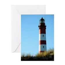 Amrum Lighthouse Greeting Cards