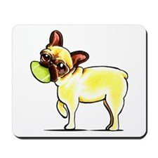 Sporty Frenchie Mousepad