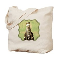 Peo-peo-ta-lakt, Nez Perce Tote Bag
