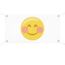 Smiley Face Emoticon Banner