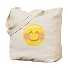 Smiley Face Emoticon Tote Bag