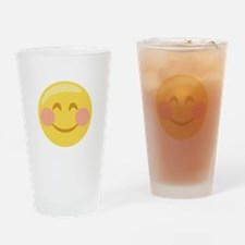 Smiley Face Emoticon Drinking Glass