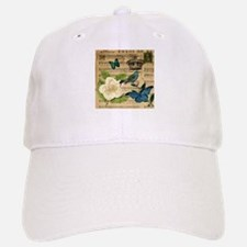 paris rose butterfly music notes jubilee Hat