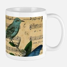paris rose butterfly music notes jubilee Mugs