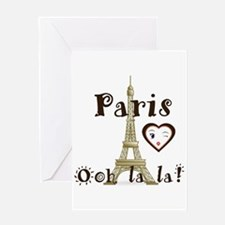 Paris Ooh La La Greeting Cards