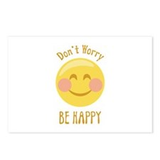 Dont Worry Be Happy Postcards (Package of 8)