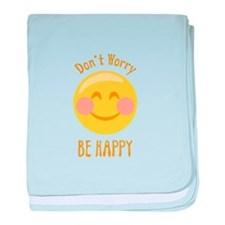 Dont Worry Be Happy baby blanket