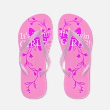 It's Twin Girls - Spring Flip Flops
