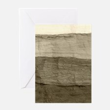 Faux Crumpled Texture Greeting Card