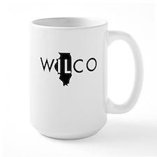 Wilco black Mugs