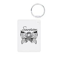 Survivor Brain Tumor Keychains