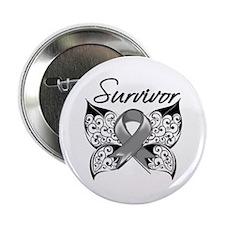 "Survivor Brain Tumor 2.25"" Button"