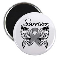 Survivor Brain Tumor Magnet
