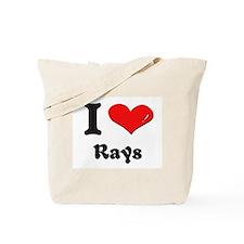 I love rays Tote Bag