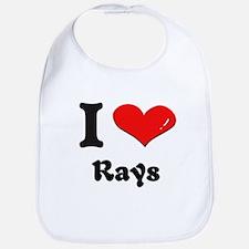 I love rays  Bib