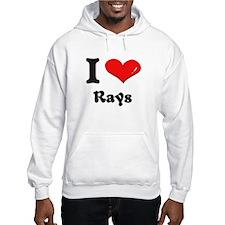 I love rays Hoodie