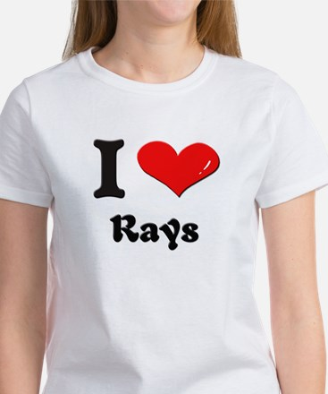 I love rays Women's T-Shirt
