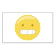 Forced Smile Emoticon Decal