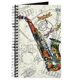 Alto sax Journals & Spiral Notebooks