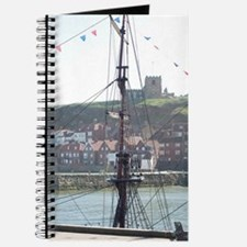 Rigging and mast of the Endeavour Journal