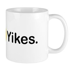 Yikes Emoticon Mugs