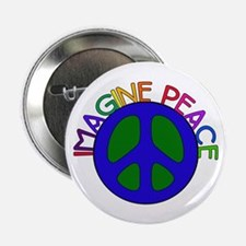 Imagine Peace Button