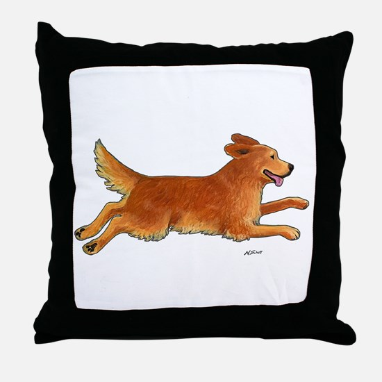 Leap Full Color Throw Pillow