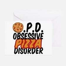 Funny Pizza Greeting Card
