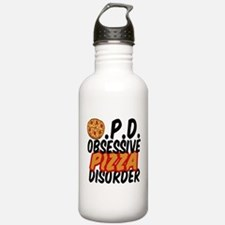 Funny Pizza Water Bottle