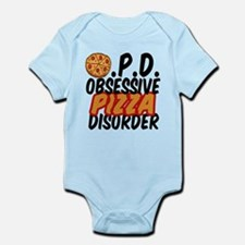 Funny Pizza Infant Bodysuit