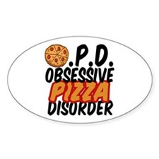 Funny Pizza Decal