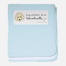 labradoodle baby blanket