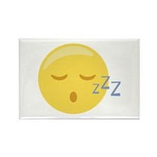 Sleepy Face Emoticon Magnets