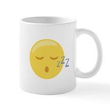 Sleepy Face Emoticon Mugs